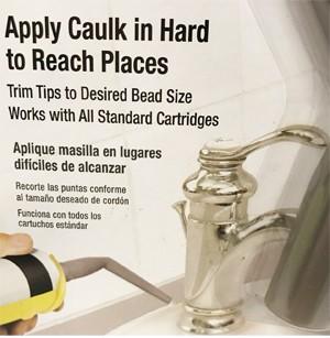 Homax Caulking Tube Tips