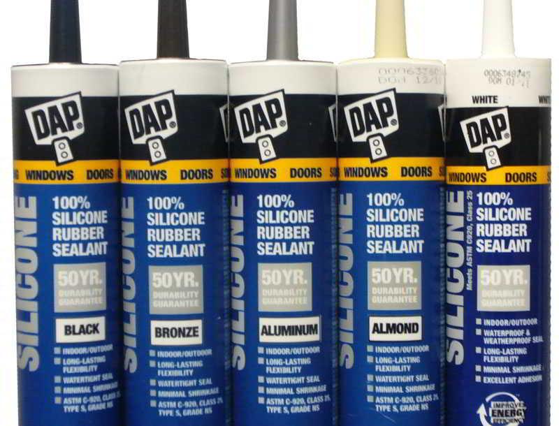 Silicone Rubber Sealant - Dap