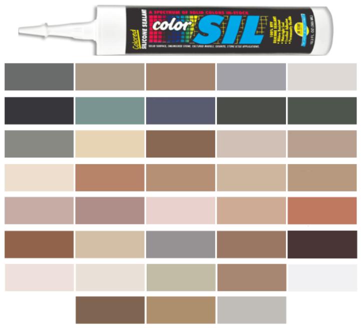 Silicone Colored Caulk - C-Cure Color Line