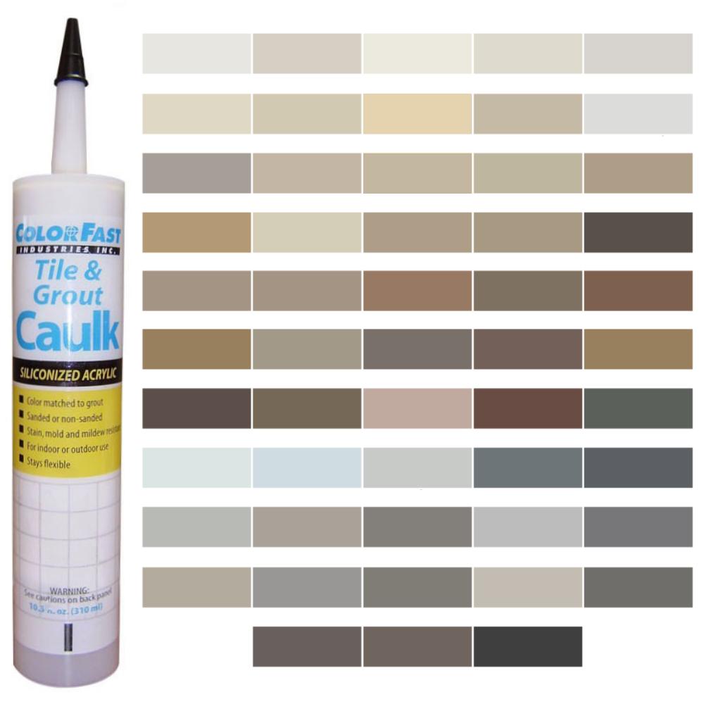 Latex Colored Caulk - CBP/Polyblend Color Line