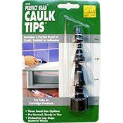 Homax 4 piece Caulk Tips