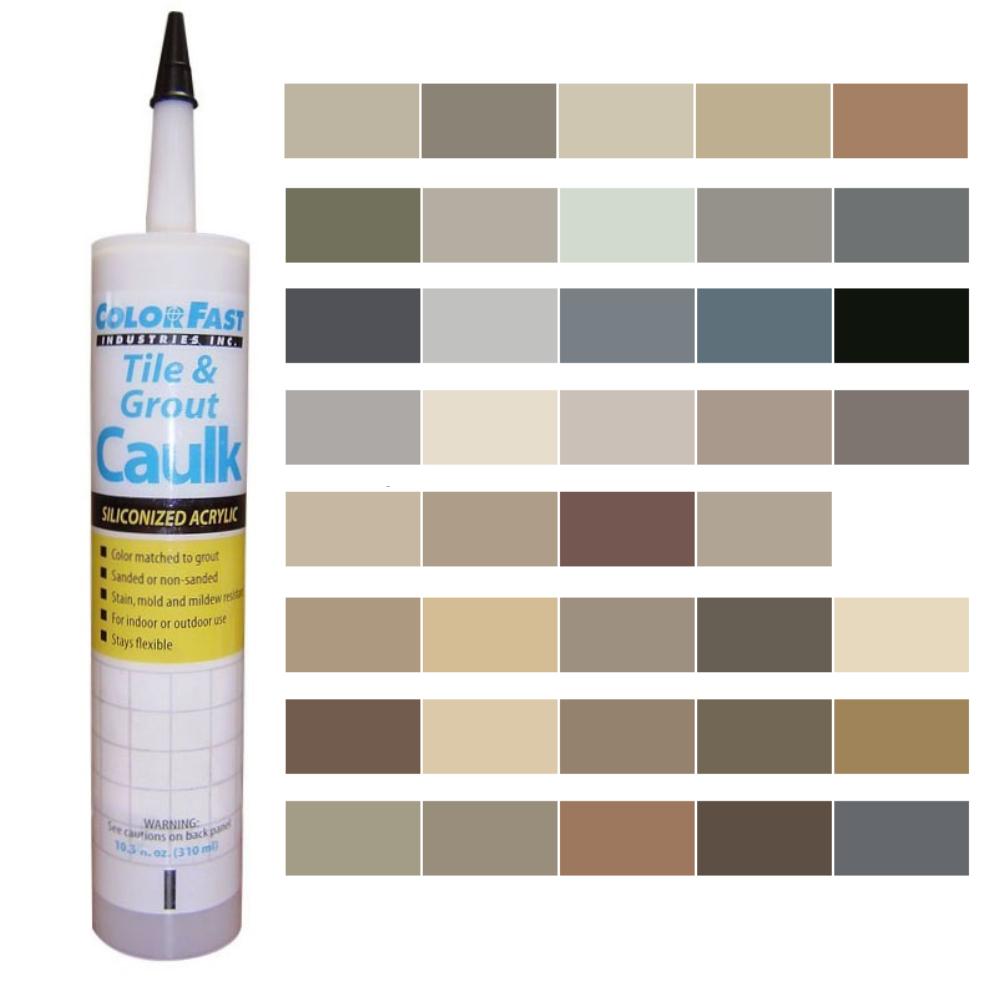 Latex Colored Caulk - Laticrete Color Line
