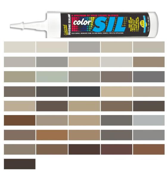 Silicone Colored Caulk - Mapei Colored Caulk