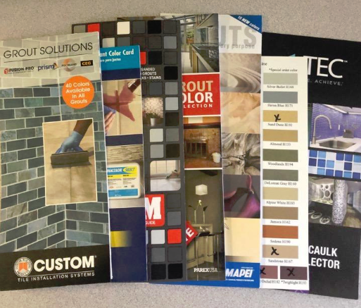 Caulk Color Charts - Physical Mailed Color Charts