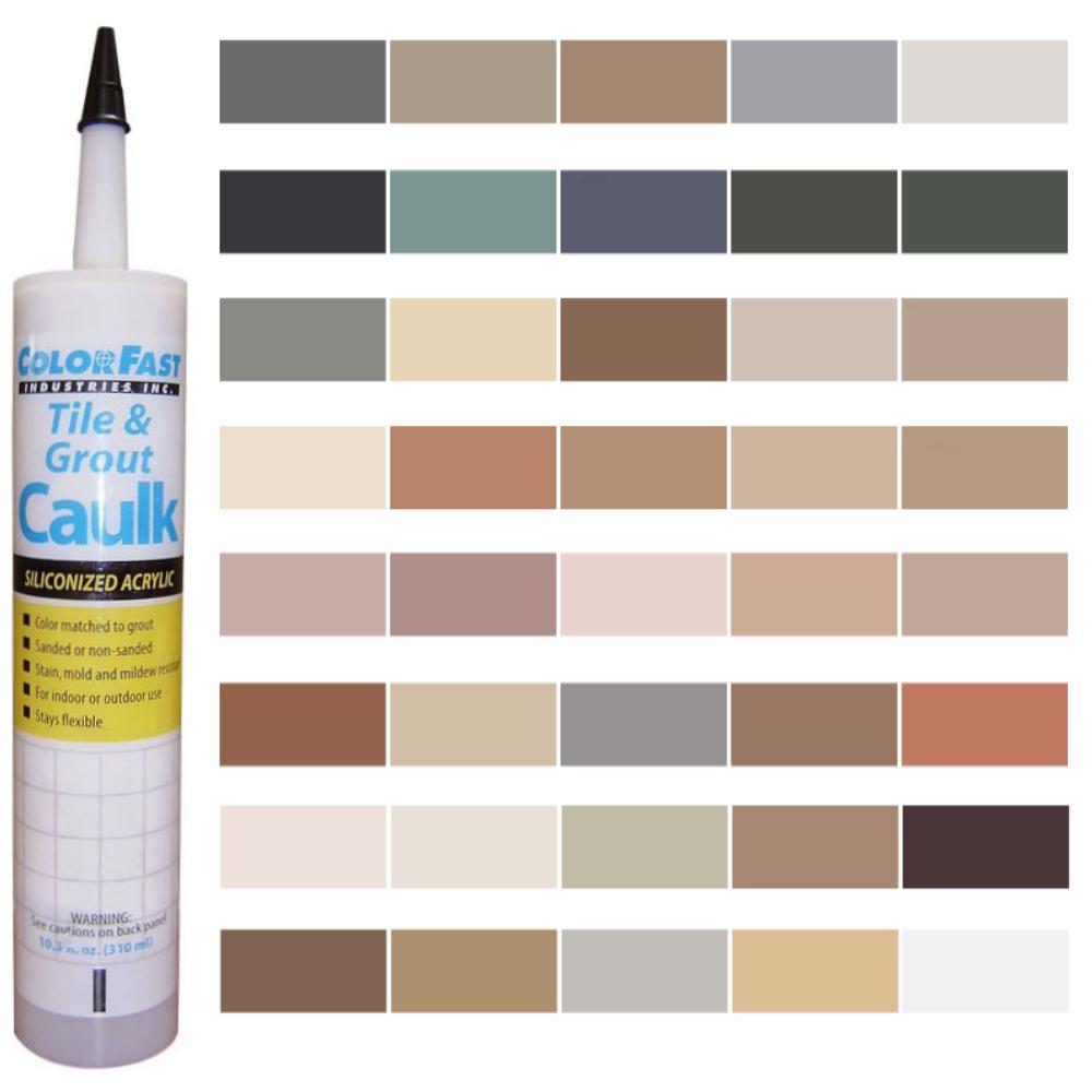 Latex Colored Caulk - C-Cure Color Line