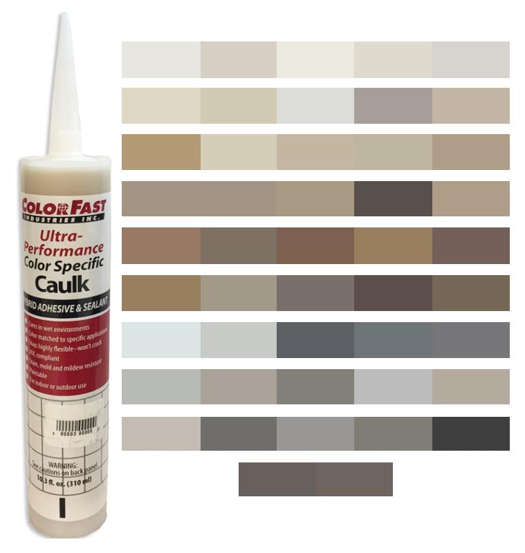 Ultra Performance Colored Caulk - CBP / Polyblend Color Line
