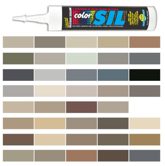 Silicone Colored Caulk - Laticrete Color Line