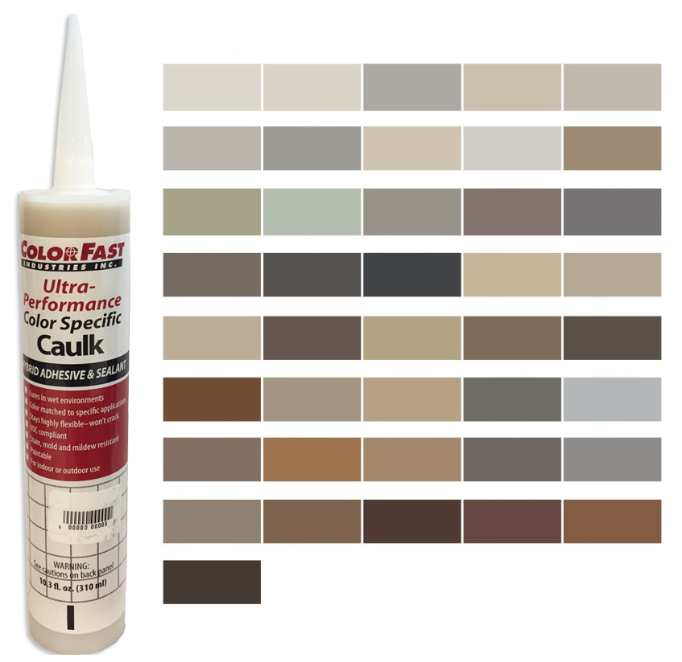 Ultra Performance Colored Caulk - Mapei Color Line