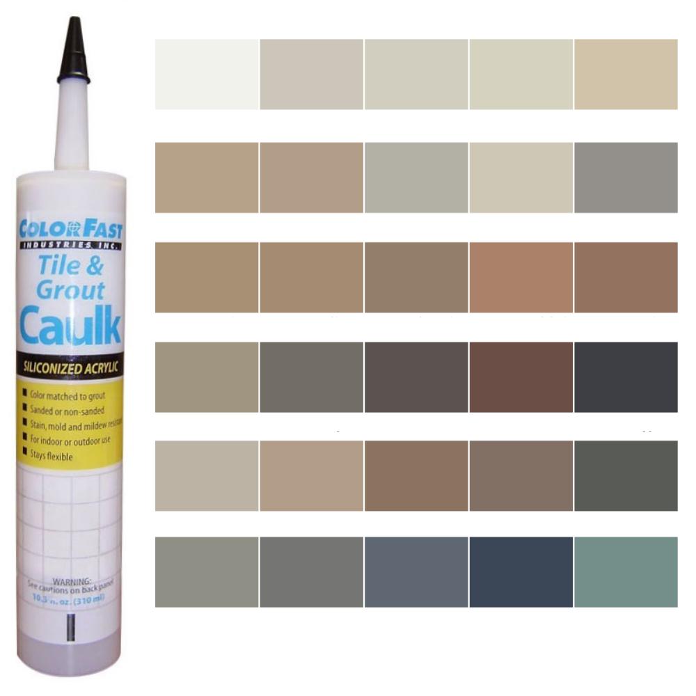 Latex Colored Caulk - Merkrete Color Line