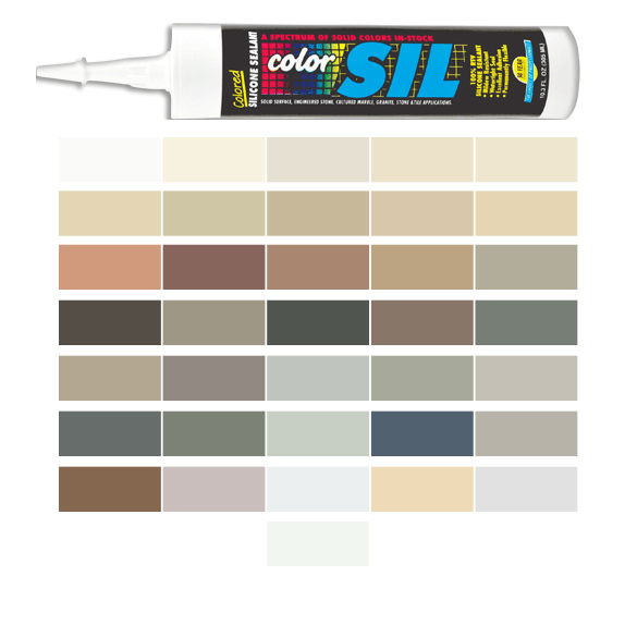 Silicone Colored Caulk - Southern Grouts and Mortars
